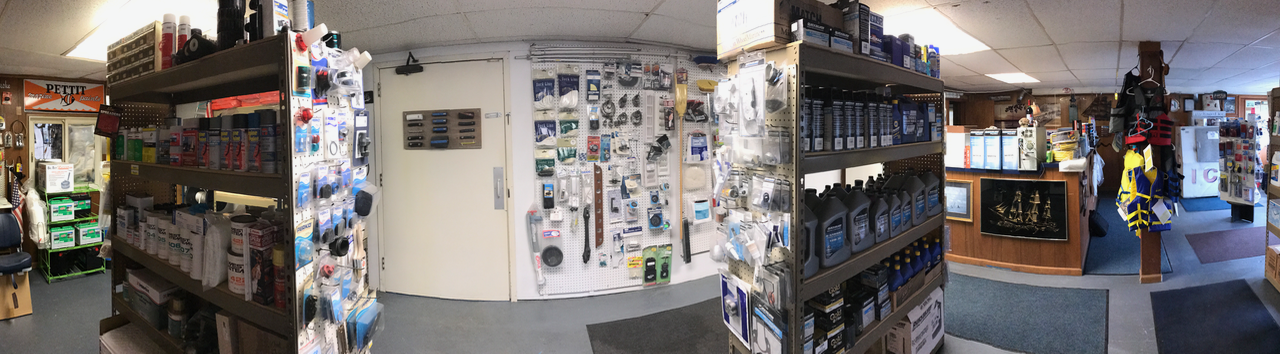 Inland Harbor Store has a large stock of your boating needs.